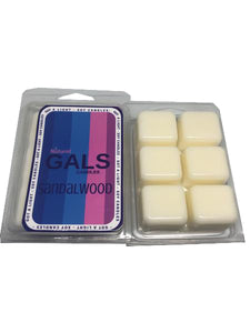 Sandalwood Soy Wax Melt Organic, [product_type], Got A Light Soy Candles, [variant_title]