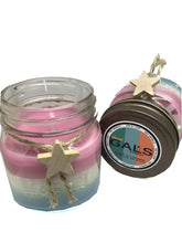 Stars & Stripes 8oz Mason Jar Soy Wax Organic Candle, [product_type], Got A Light Soy Candles, [variant_title]