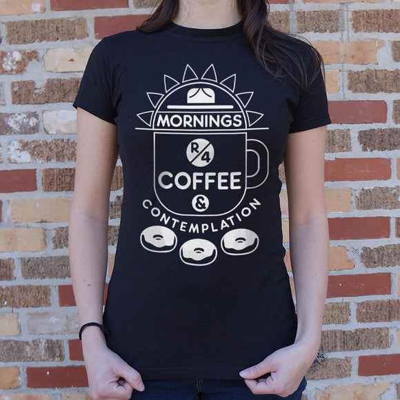 Womens Coffee & Contemplation T-Shirt