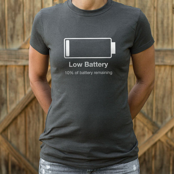 Womens Low Battery T-Shirt