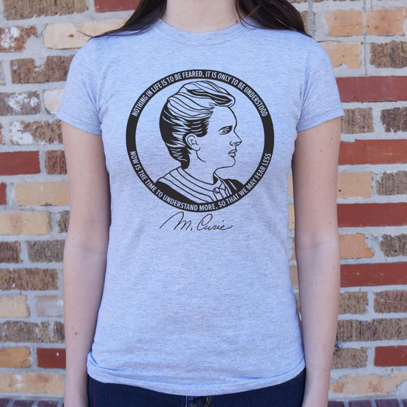 Womens Marie Curie T-Shirt