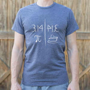 Mens Pi Mirrors Pie T-Shirt