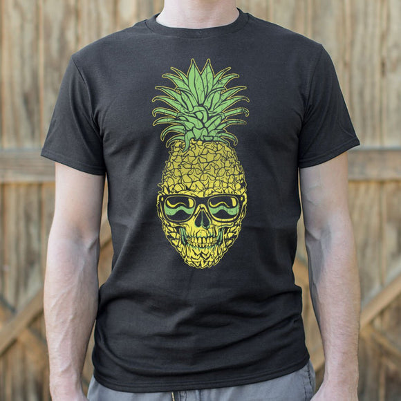 Mens Pineapple Skull T-Shirt