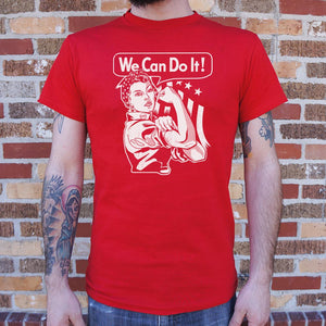 Mens We Can Do It T-Shirt