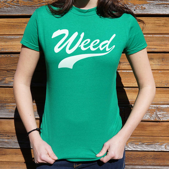Womens Weed T-Shirt