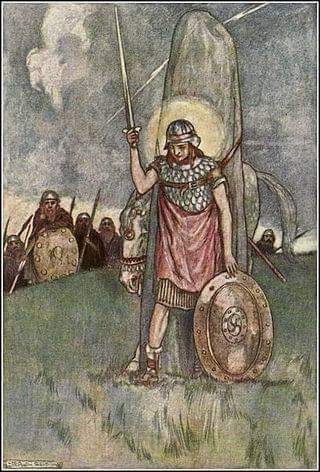 #14 The Death of Cú Chulainn