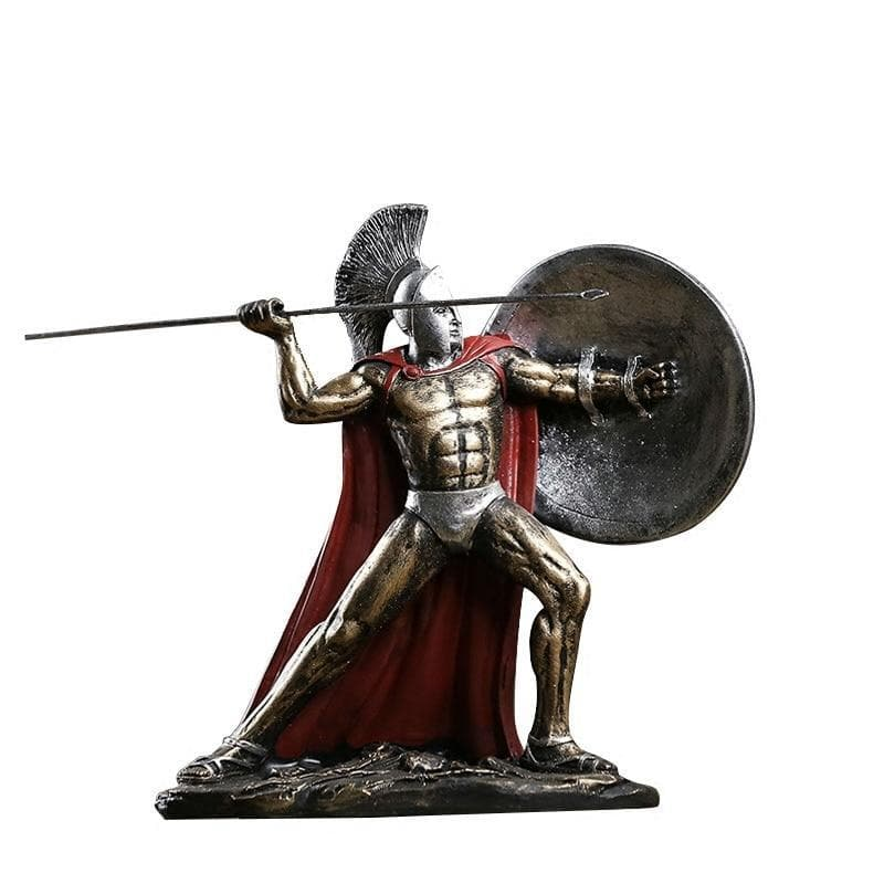 Ancient Greece Spartan Warrior Statue