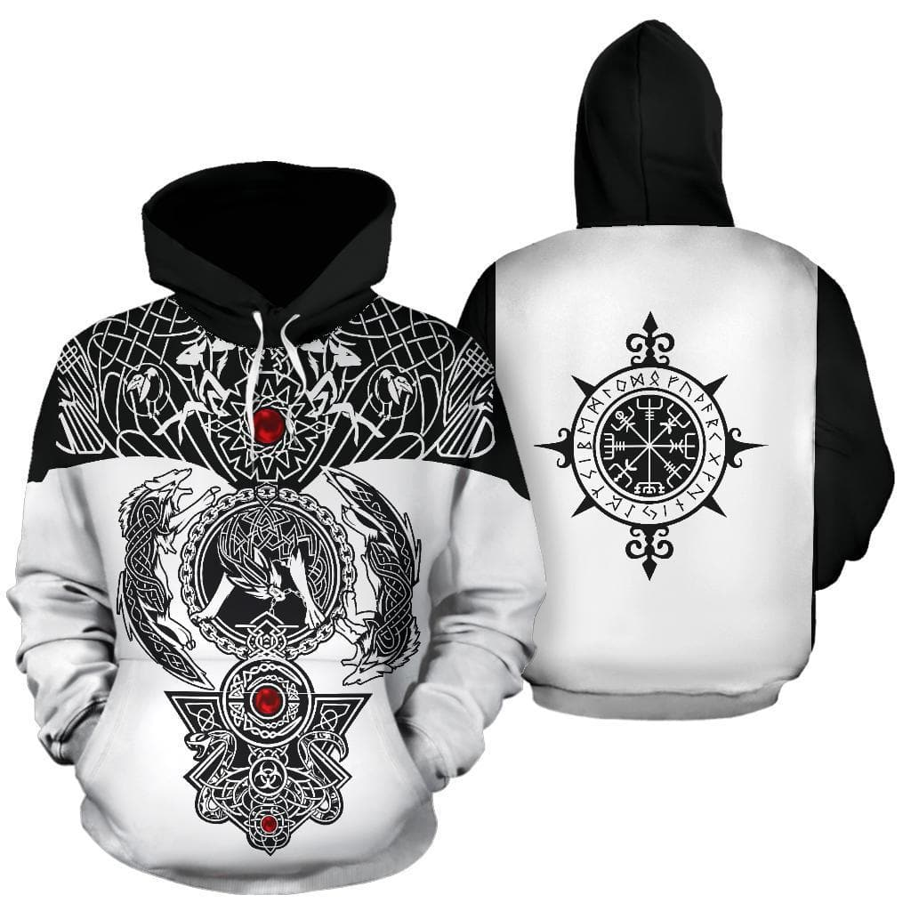 3D Viking Ragnarok Hoodie Ancient Treasures Ancientreasures Viking Odin Thor Mjolnir Celtic Ancient Egypt Norse Norse Mythology