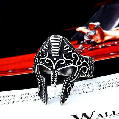 7 Roman Ancient Mask Ring