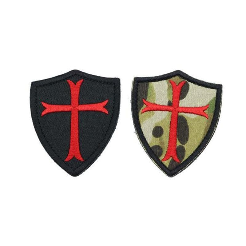 Red Cross Templar Embroidery Badge