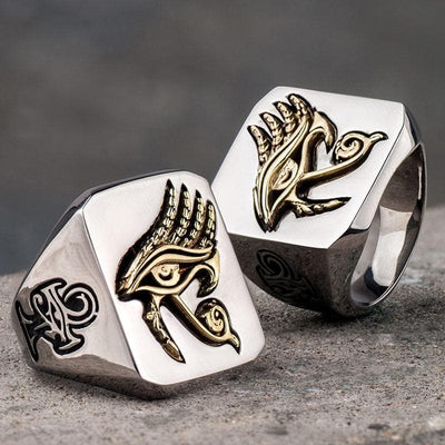 Ancient Egypt Eye Of Horus Ring