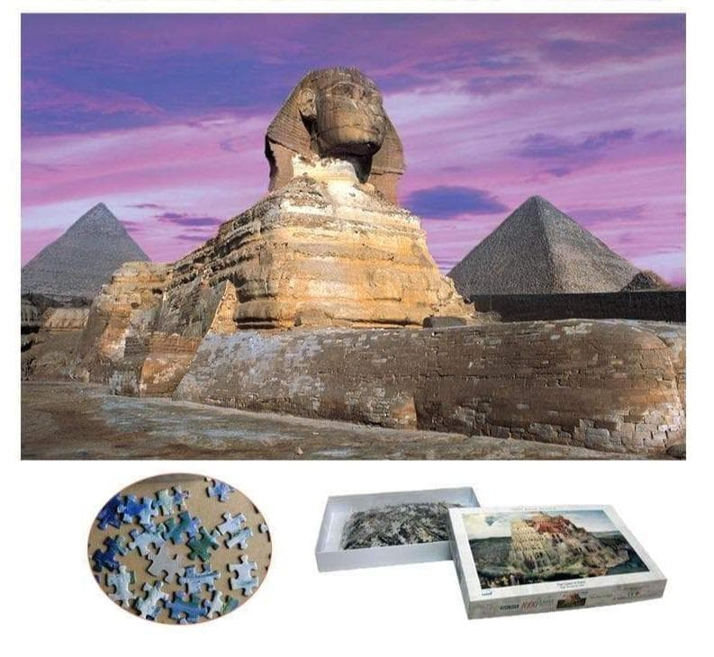 Ancient Egypt Pyramids of Giza 1000 Pieces Jigsaw Puzzles Ancient Treasures Ancientreasures Viking Odin Thor Mjolnir Celtic Ancient Egypt Norse Norse Mythology