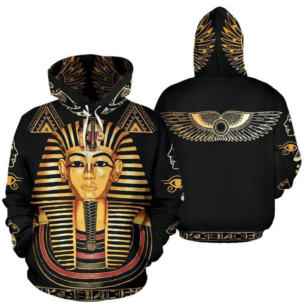 Ancient Egyptian Pharaoh Hoodie Ancient Treasures Ancientreasures Viking Odin Thor Mjolnir Celtic Ancient Egypt Norse Norse Mythology