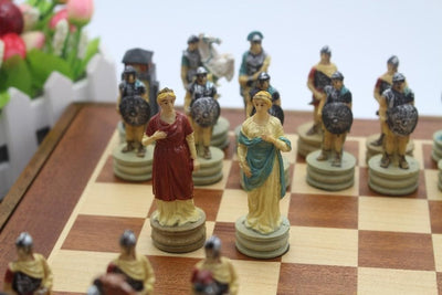 Ancient Greece Ancient Greece Characters Chess Set