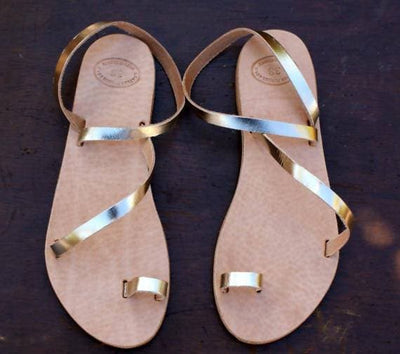 Ancient Greece Greek Classic Leather Sandal
