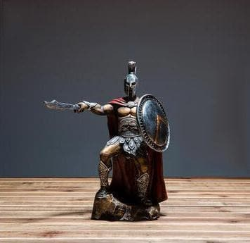 Ancient Greece Knight Statue