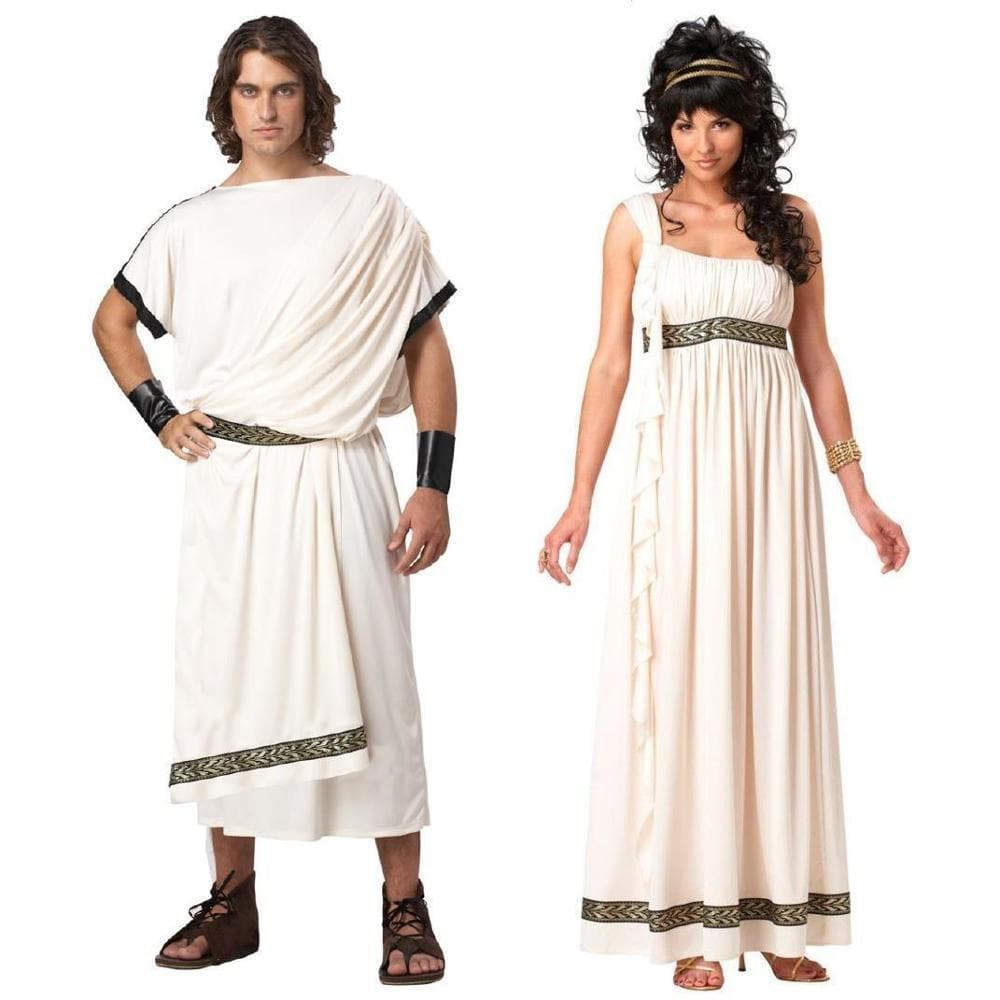 Ancient Greece Man / Medium Ancient Greece Mythology Olympus Zeus Hera Fancy Dress