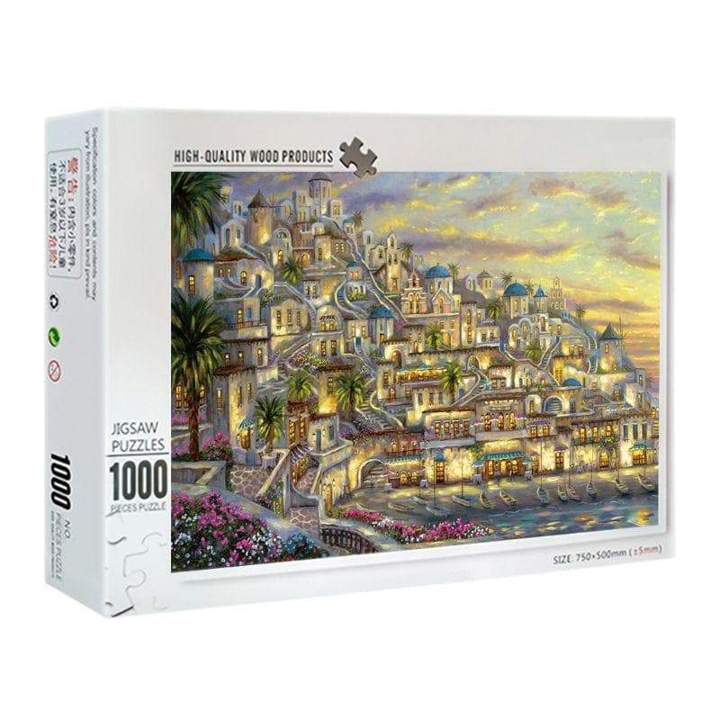 Ancient Greek 1000 Pieces Greek Town Jigsaw Puzzle Ancient Treasures Ancientreasures Viking Odin Thor Mjolnir Celtic Ancient Egypt Norse Norse Mythology
