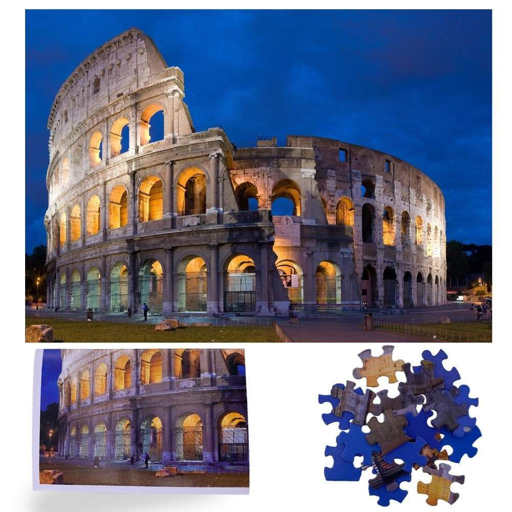 Ancient Roman Colosseum 1000 Pieces Jigsaw Puzzle Ancient Treasures Ancientreasures Viking Odin Thor Mjolnir Celtic Ancient Egypt Norse Norse Mythology