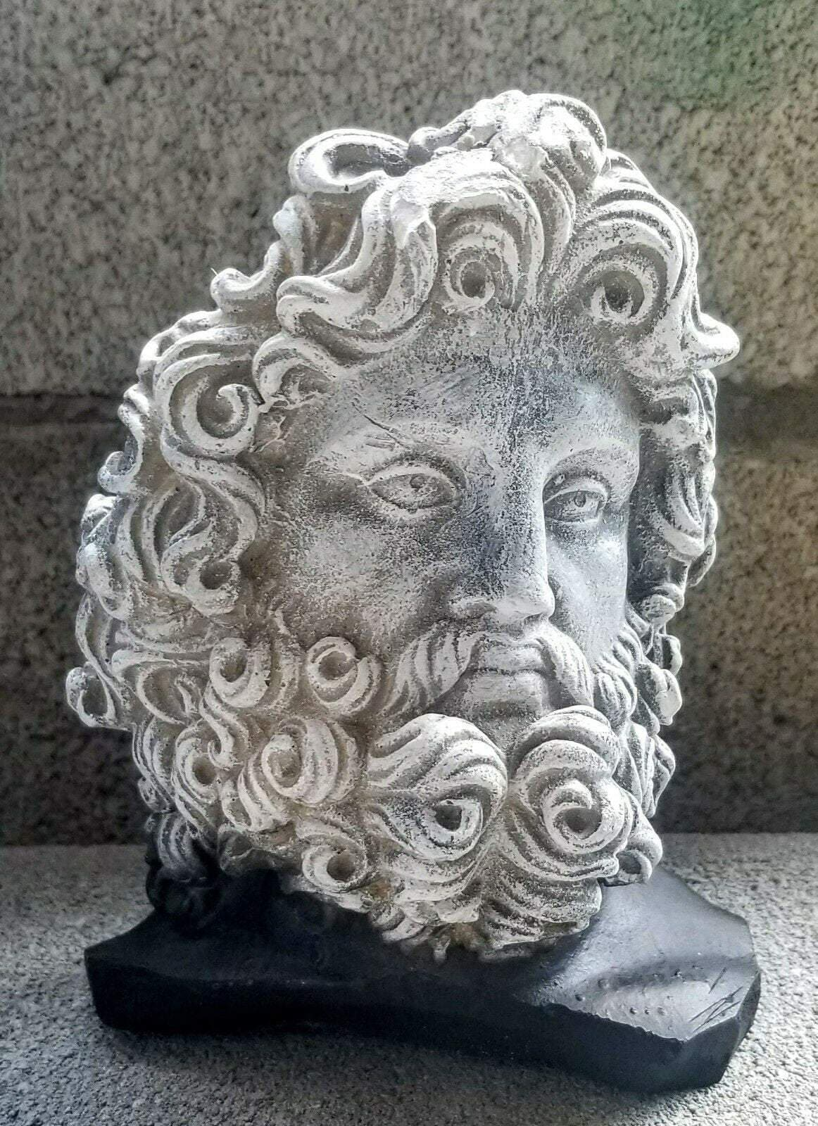 Ancient Roman God Jupiter Head Fragment Home Decor Ancient Treasures Ancientreasures Viking Odin Thor Mjolnir Celtic Ancient Egypt Norse Norse Mythology