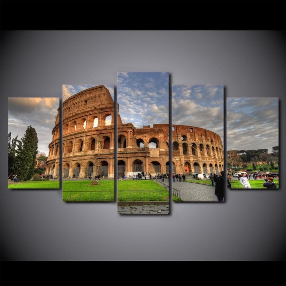 Ancient Rome Ancient Rome Colosseum Painting