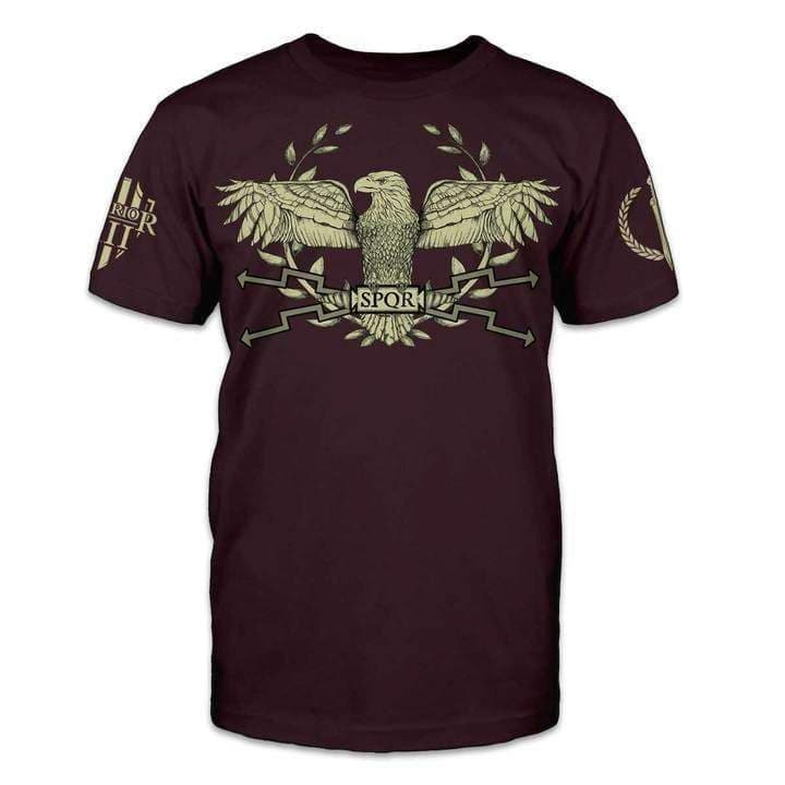 Ancient Rome Aquila SPQR T-Shirt