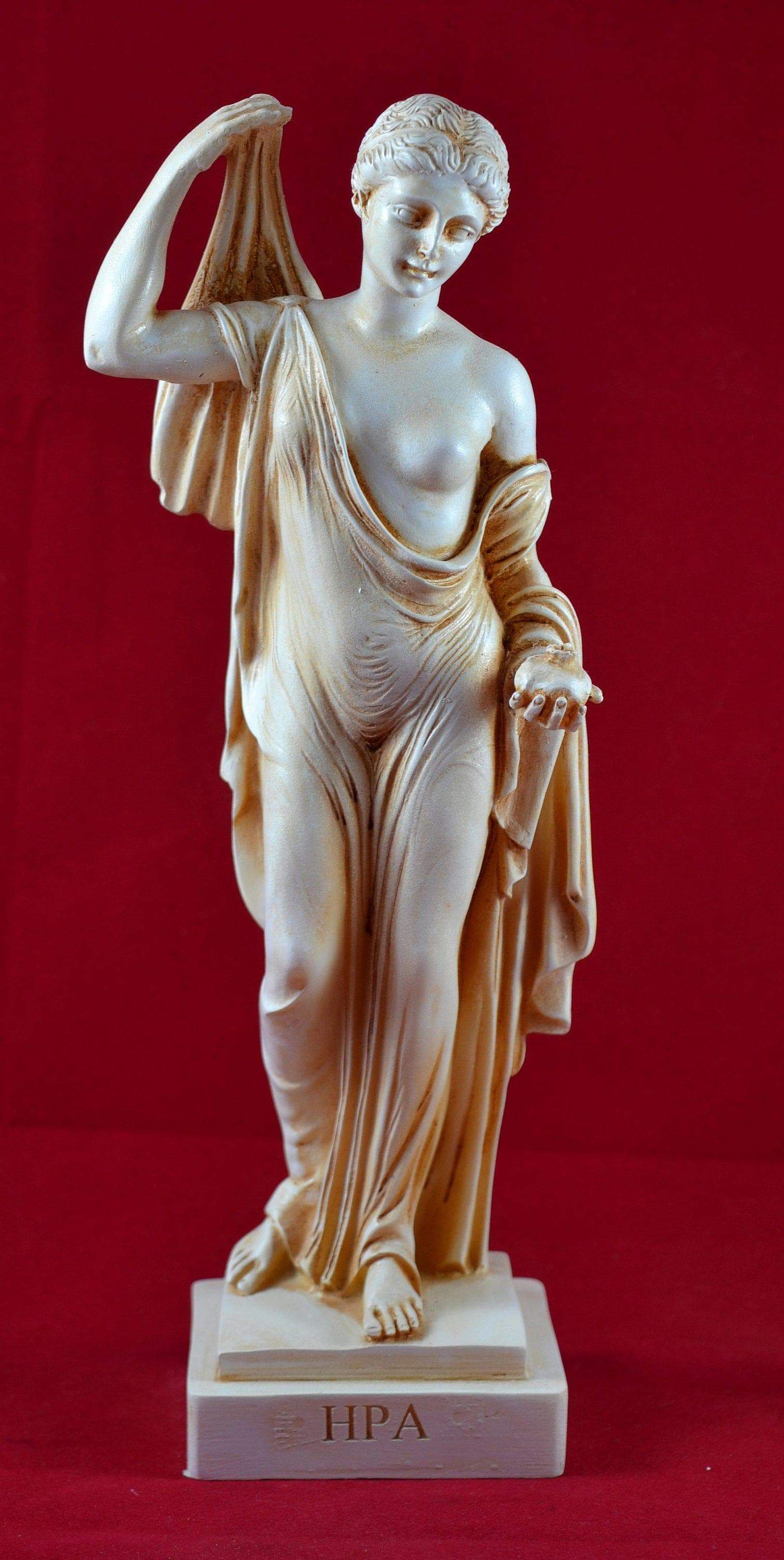 Ancient Rome Juno - Goddess of Women and Marriage Aged Patina Marble Statue Ancient Treasures Ancientreasures Viking Odin Thor Mjolnir Celtic Ancient Egypt Norse Norse Mythology