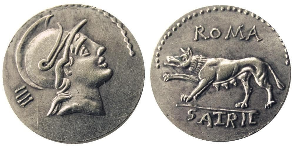 Roman Ancient Denarius