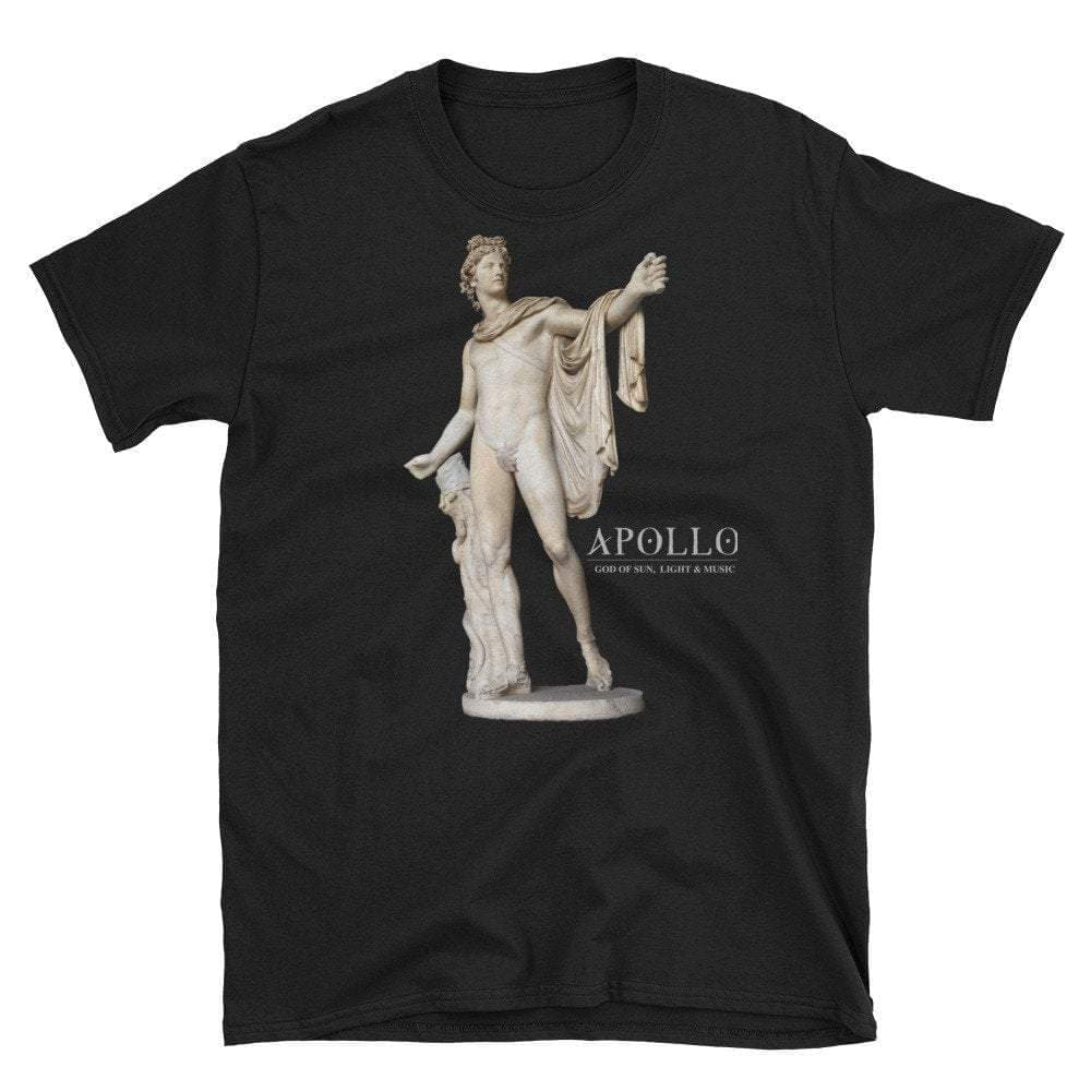 Ancient Rome Roman God of Sun, Light, Music & Prophecy Apollo T-Shirt Ancient Treasures Ancientreasures Viking Odin Thor Mjolnir Celtic Ancient Egypt Norse Norse Mythology