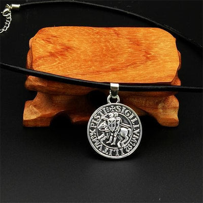 Knights Templar 19th Century Seal Necklace