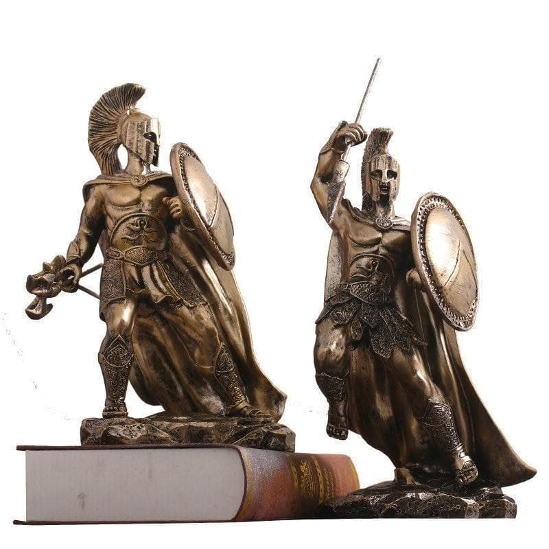 Ancient Roman Warrior Sculpture