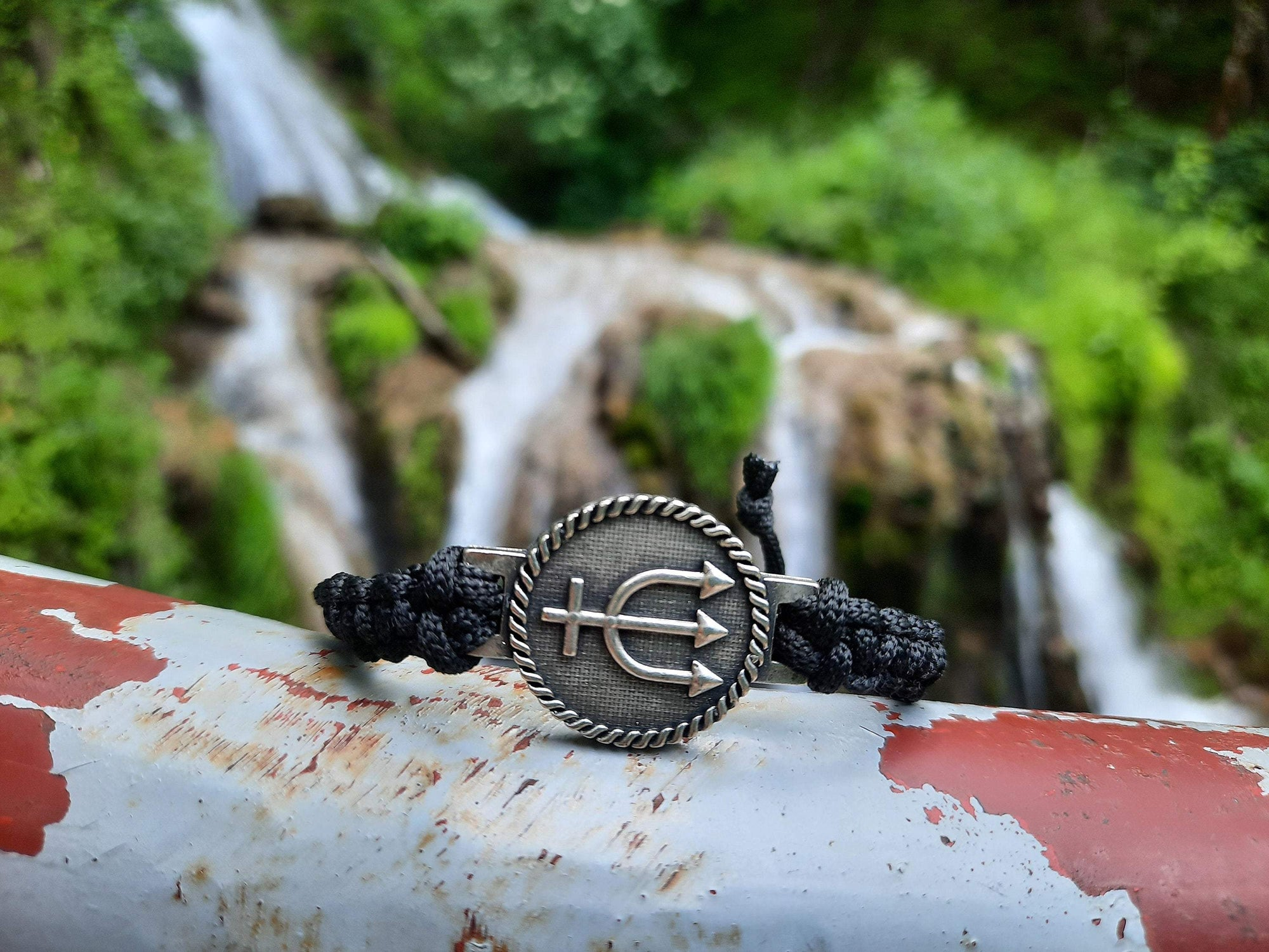 Bracelet Ancient Rome Neptunes Rope Knitted Bracelet Ancient Treasures Ancientreasures Viking Odin Thor Mjolnir Celtic Ancient Egypt Norse Norse Mythology