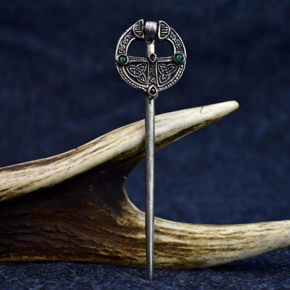 Brooch Celtic Knotwork Ballinderry Ring Pewter Brooch Ancient Treasures Ancientreasures Viking Odin Thor Mjolnir Celtic Ancient Egypt Norse Norse Mythology
