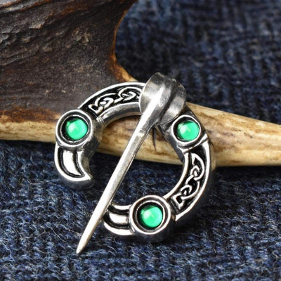 Brooch Green Celtic Bird Head Penannular Dunadd Pewter Brooch Ancient Treasures Ancientreasures Viking Odin Thor Mjolnir Celtic Ancient Egypt Norse Norse Mythology