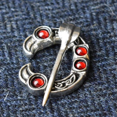 Brooch Red Celtic Bird Head Penannular Dunadd Pewter Brooch Ancient Treasures Ancientreasures Viking Odin Thor Mjolnir Celtic Ancient Egypt Norse Norse Mythology