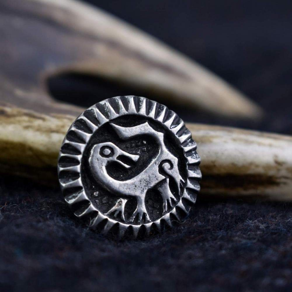 Brooch Viking Age Backward Looking Beast Pewter Brooch Ancient Treasures Ancientreasures Viking Odin Thor Mjolnir Celtic Ancient Egypt Norse Norse Mythology