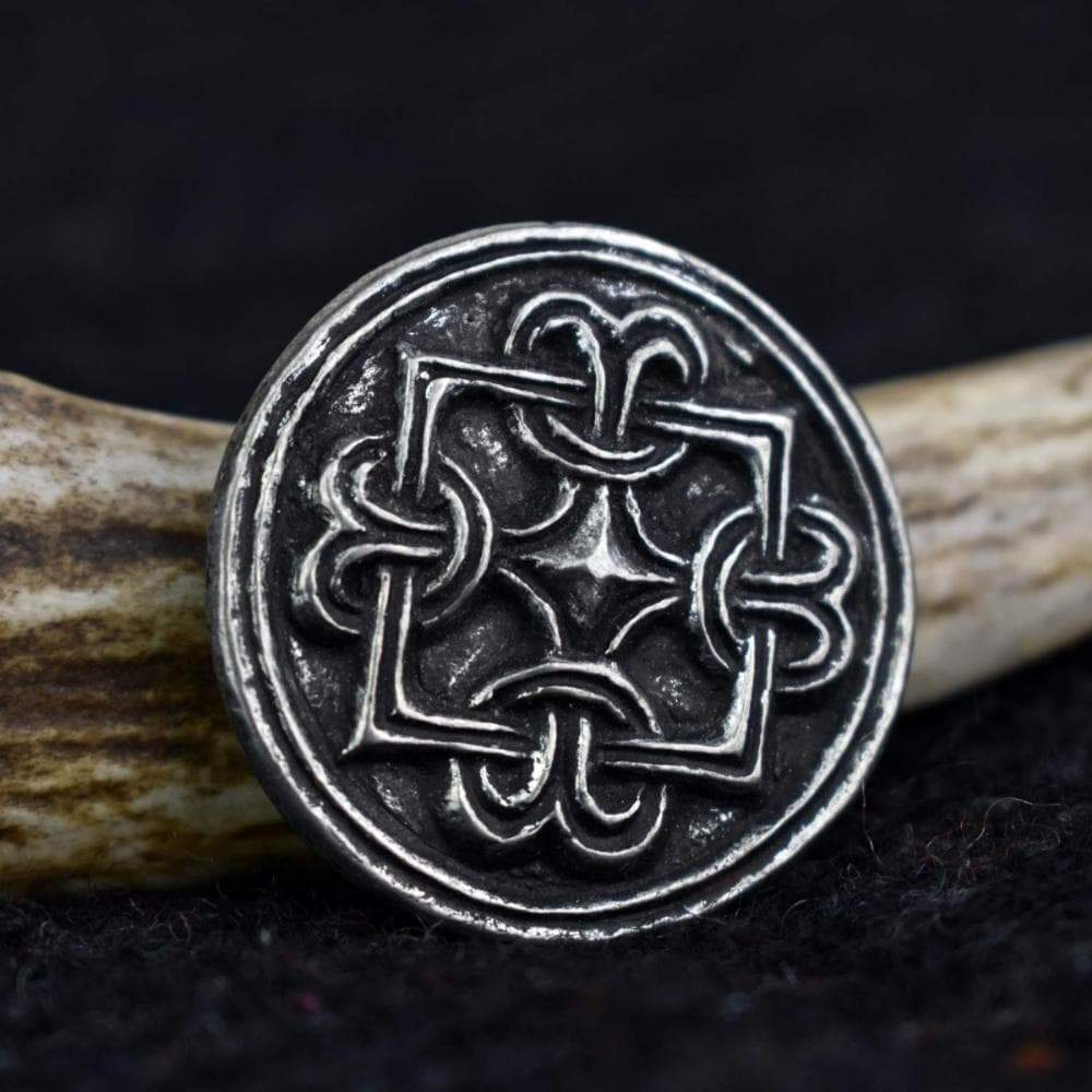 Brooch Viking Borre Style Knot Pewter Disc Brooch Ancient Treasures Ancientreasures Viking Odin Thor Mjolnir Celtic Ancient Egypt Norse Norse Mythology