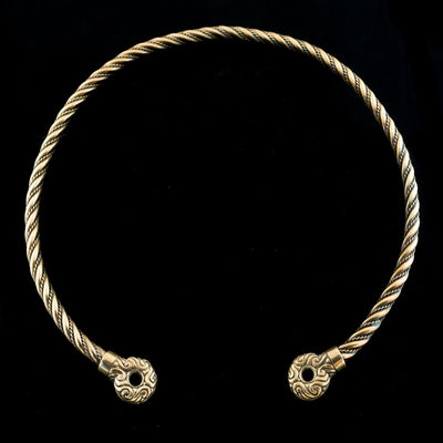 Celtic 33 cm Bronze Celtic Torc