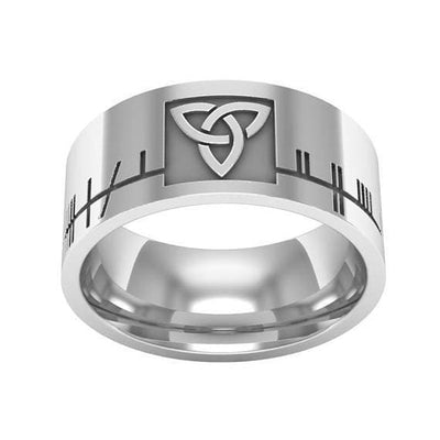 Celtic 925 Sterling Silver Triquetra RIng Ancient Treasures Ancientreasures Viking Odin Thor Mjolnir Celtic Ancient Egypt Norse Norse Mythology