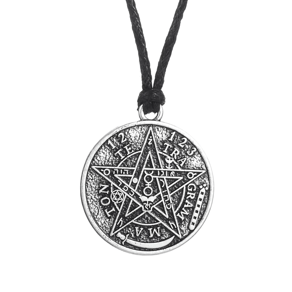 Wiccan Pentacle Charm Necklace