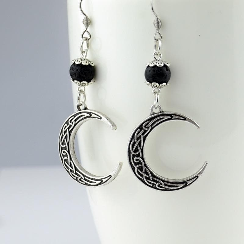 Celtic Celtic Irish Crescent Earrings