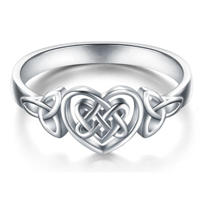 Celtic Celtic Knot Heart Ring
