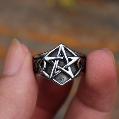 Celtic Celtic Knot Pentagram Ring
