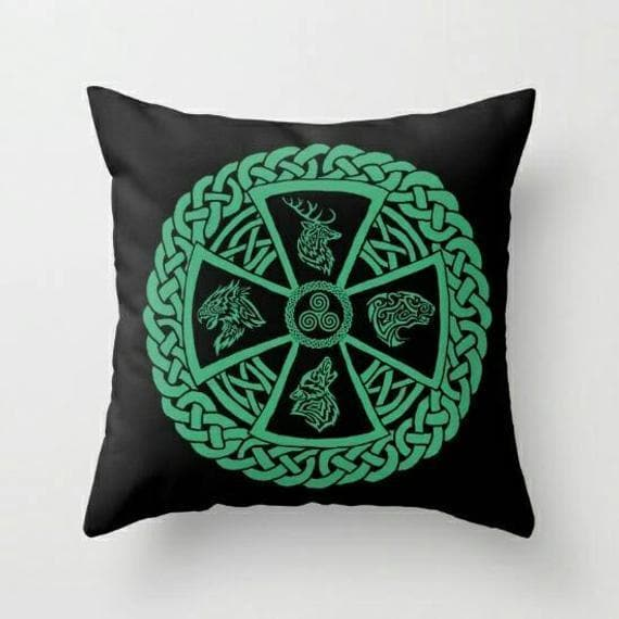 Celtic Nature Pillow