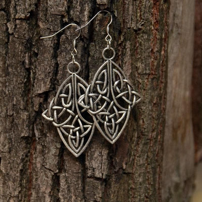 Celtic Vintage Knot Earrings