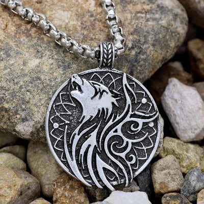 Celtic Celtic Wolf Pendant Necklace Ancient Treasures Ancientreasures Viking Odin Thor Mjolnir Celtic Ancient Egypt Norse Norse Mythology