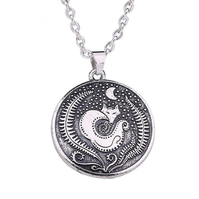 Celtic Moon Celtic Fox Necklace Ancient Treasures Ancientreasures Viking Odin Thor Mjolnir Celtic Ancient Egypt Norse Norse Mythology