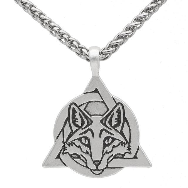 Slavic Fox Trinity Necklace