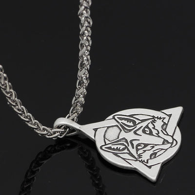 Celtic Slavic Fox Trinity Necklace Ancient Treasures Ancientreasures Viking Odin Thor Mjolnir Celtic Ancient Egypt Norse Norse Mythology