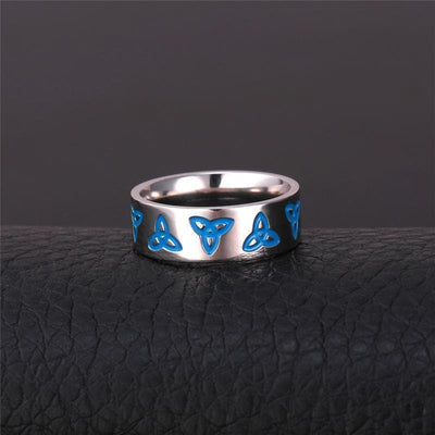 Celtic Stainless Steel Celtic Irish Trinity Ring Ancient Treasures Ancientreasures Viking Odin Thor Mjolnir Celtic Ancient Egypt Norse Norse Mythology
